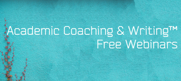Academic Coaching & Writing