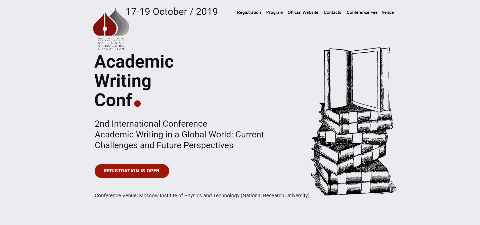 2nd International Conference in Academic Writing: Current Challenges and Future Perspectives |17-19 October, 2019